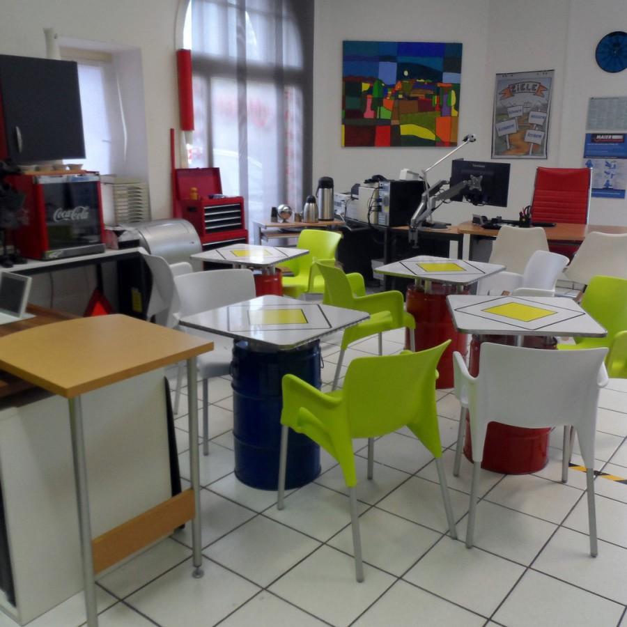 Unterrichtsraum Maier Fahrschulen in Stuttgart Obertürkheim